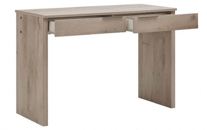 Brooklyn Desk  /  Consul Table Smoky Oak / Whitewashed Cherry